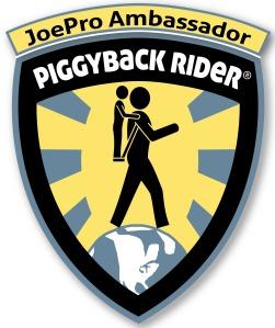 Piggyback Rider Badge - ProJoe Ambassador