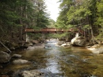 The footbridge over TheSwift