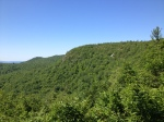 A view towards Bald Ledge from the Bill SextonShelter