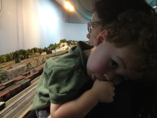 A tired Thomas fan