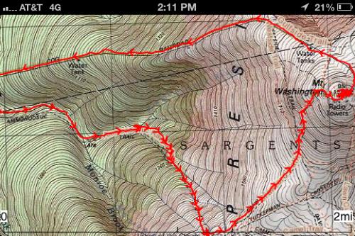 Ammonoosuc Ravine Trail 044