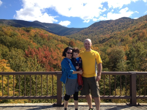 Mount Lafayette in the background
