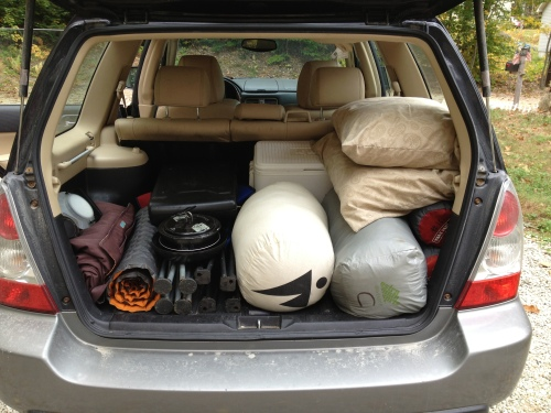 Subaru loaded