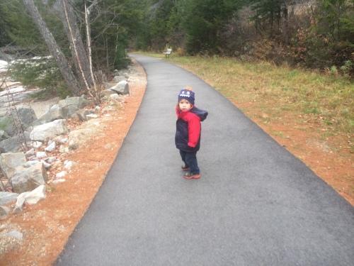 """I walkin'"""