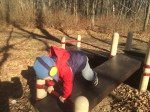 Alex doing push-ups