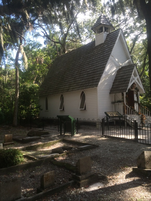 Mary's Chapel, originally built in the 1870's, and more recently restored.