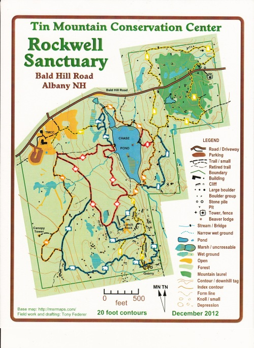 Tin Mountain Conservation Center & Rockwell Sanctuary